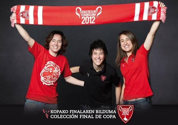 Collezione dell'Athletic per la finale di Coppa del Re 2012