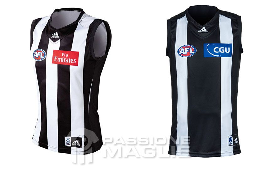 Collingwood Magpies guernsey 2012