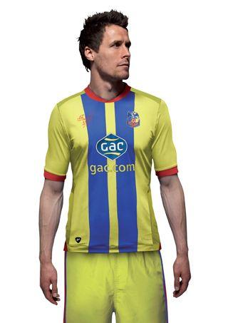Seconda maglia Crystal Palace 2012-13