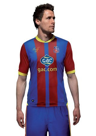 Divisa home Crystal Palace 2012-13