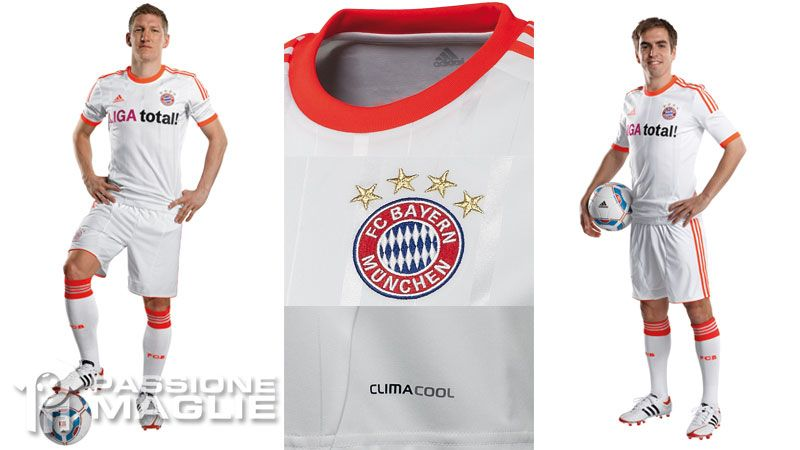 Divisa Bayern Monaco away 2012-2013 adidas
