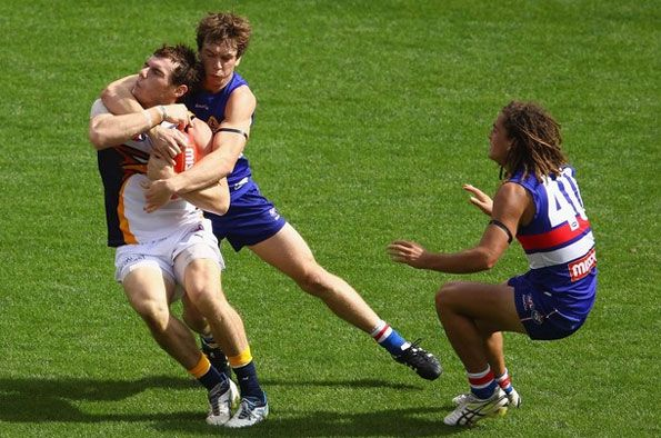 Match Eagles-Bulldogs AFL 2012