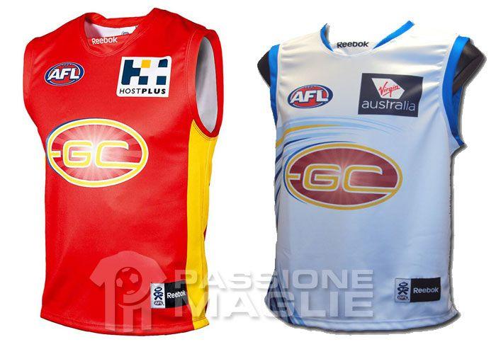 Gold Coast Suns 2012 guernsey
