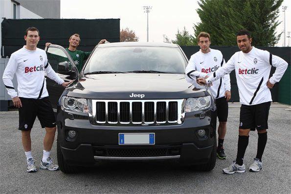 Juventus E Fiat Di Nuovo Insieme  Sulle Maglie Arriva Il Marchio Jeep