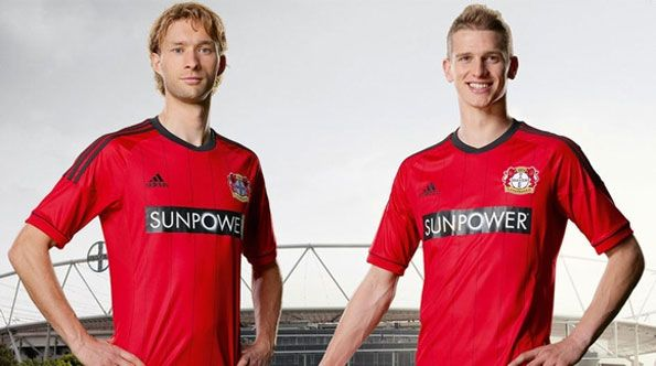 Divisa casalinga Bayer Leverkusen 2012-2013