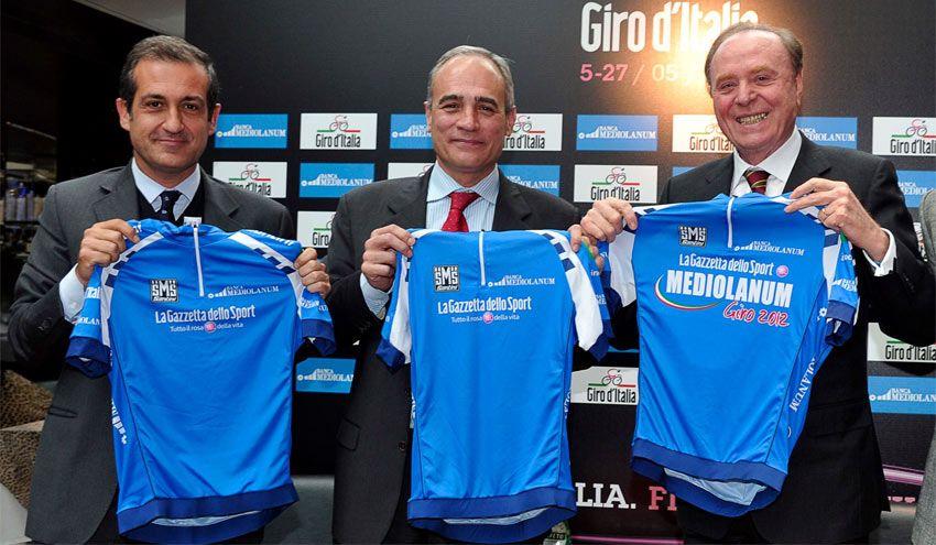 Maglia azzurra 2012 Giro d'Italia