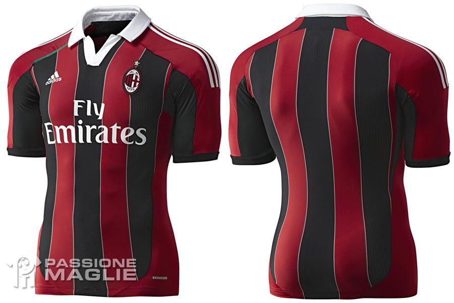 Milan maglia home authentic 2012-2013