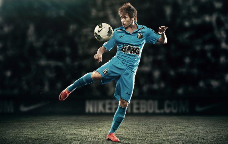 Neymar terza maglia Santos 2012