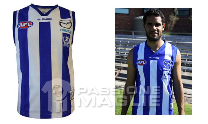 North Melbourne 2012 guernsey