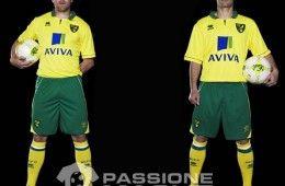 Norwich City prima maglia 2012-2013