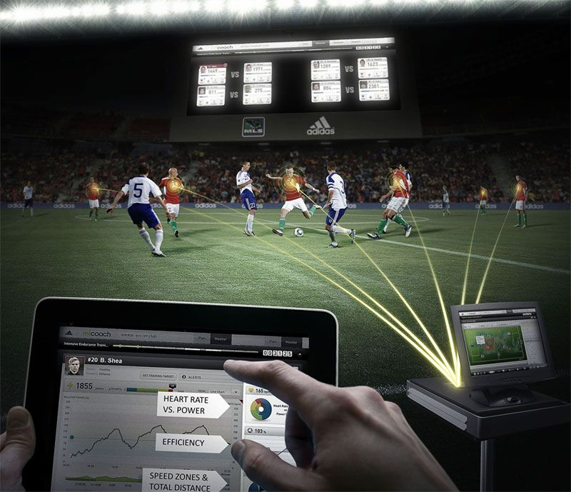 adidas miCoach soccer tracking system