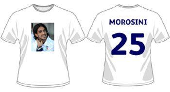 Maglietta di Morosini della Lega B