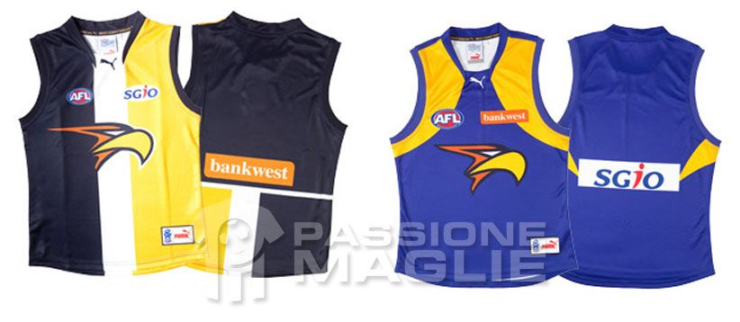 Western Coast Eagles guernsey 2012