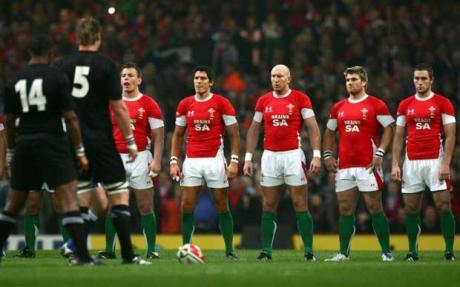 La nazionale di rugby del Galles