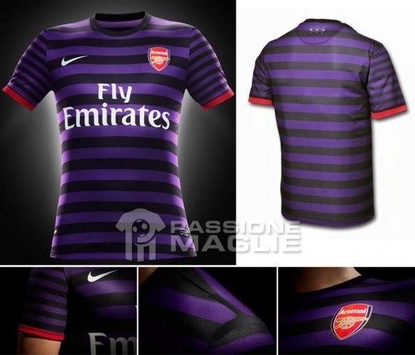 Arsenal maglia trasferta 2012-2013