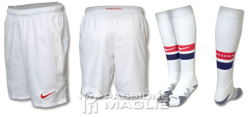Pantaloncini e calzettoni Arsenal Nike