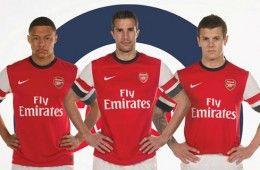 Arsenal kit home 2012-13 Nike