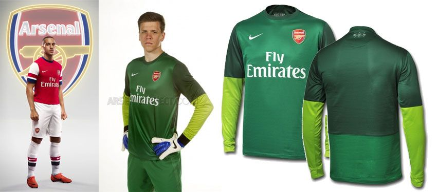 Divisa portiere home Arsenal 2012-2013