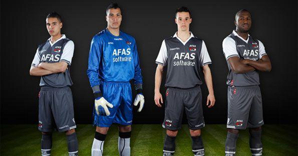 AZ Alkmaar seconda maglia 2012-2013 Macron