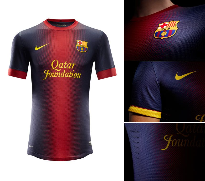 Barcellona prima maglia Nike 2012-2013