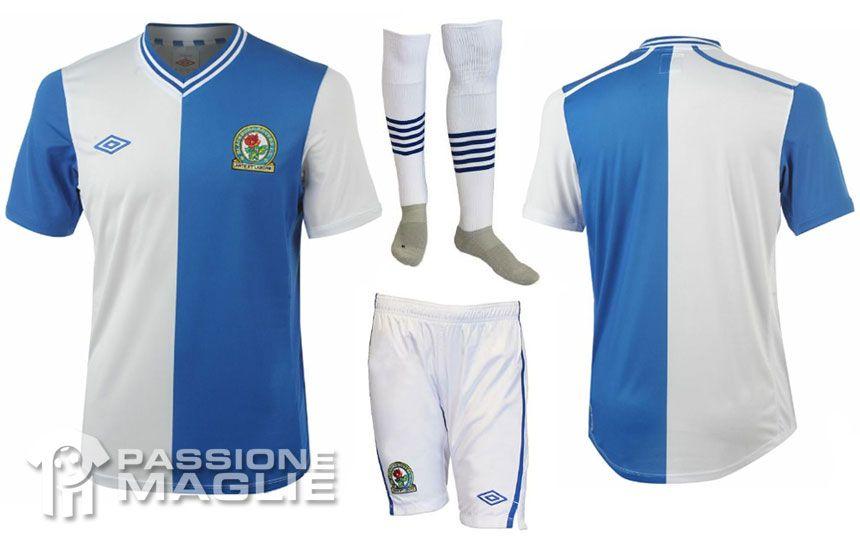 Blackburn Rovers prima maglia 2012-2013
