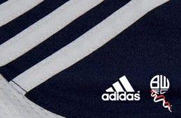 Bolton Wanderers firma con adidas