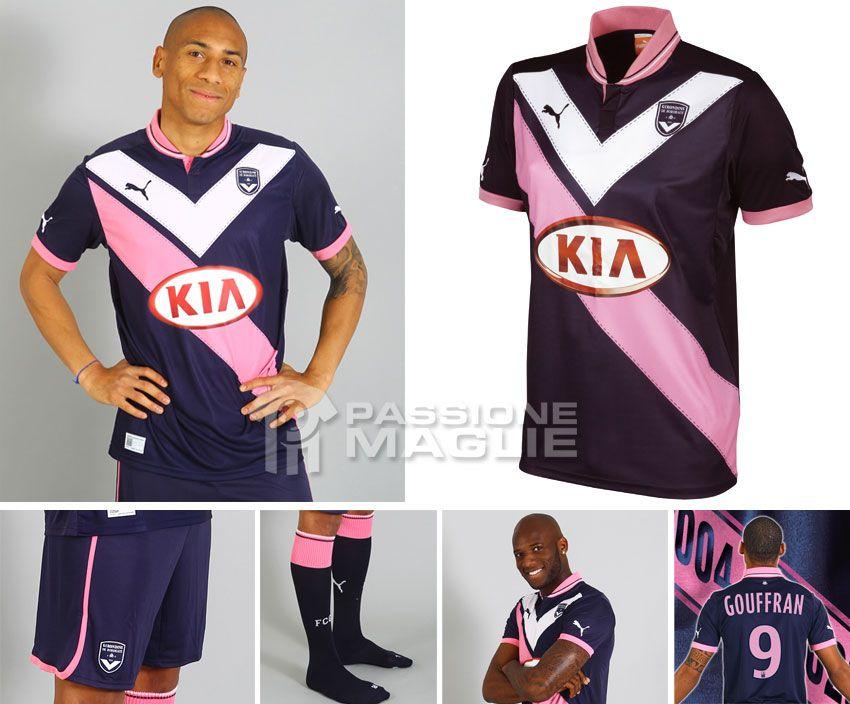 Bordeaux terza maglia Puma 2012-2013