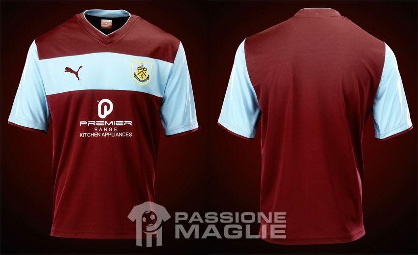Burnley prima maglia casalinga 2012-2013