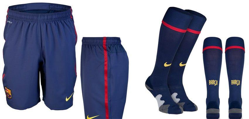 Pantaloncini e calzettoni Barcellona Nike