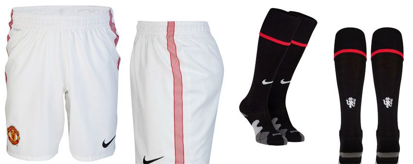 Pantaloncini e calzettoni Manchester United 2012-2013