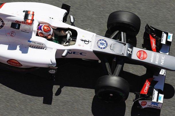 Stemma Chelsea sulla Sauber F1