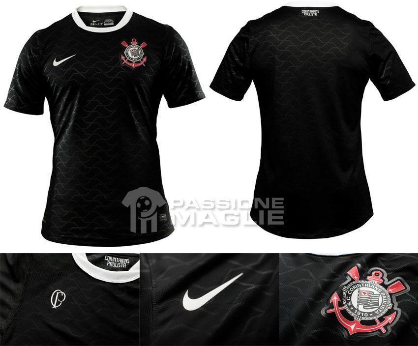 Corinthians maglia trasferta Nike 2012