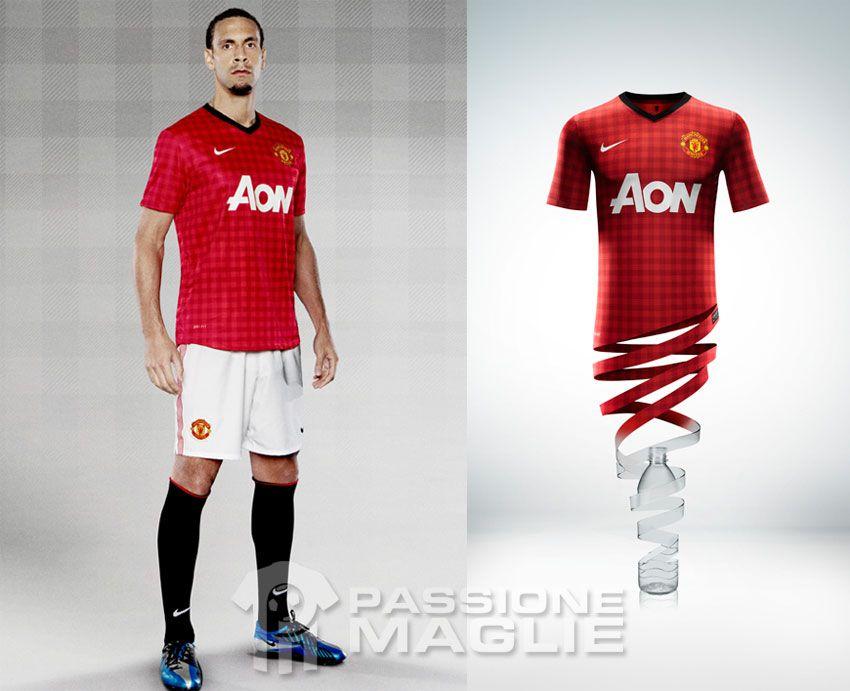 Manchester United kit Nike 2012-2013