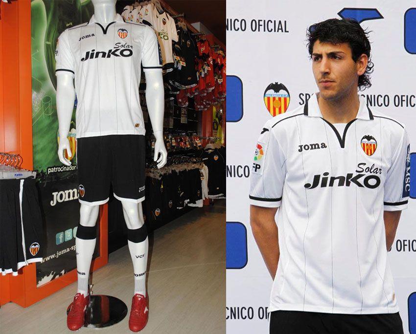 Foto maglia Valencia 2012-2013