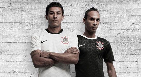 Corinthians maglie Nike stagione 2012