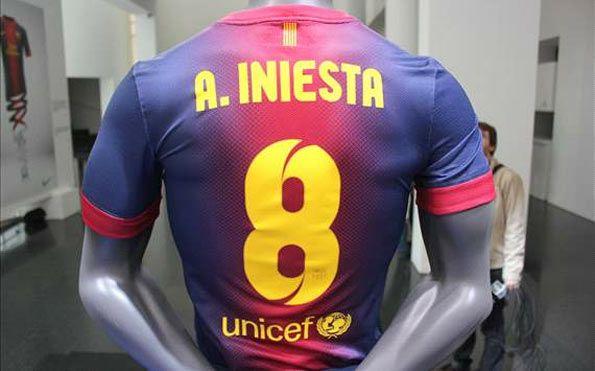 Font nome e numero Barcellona 2012-2013