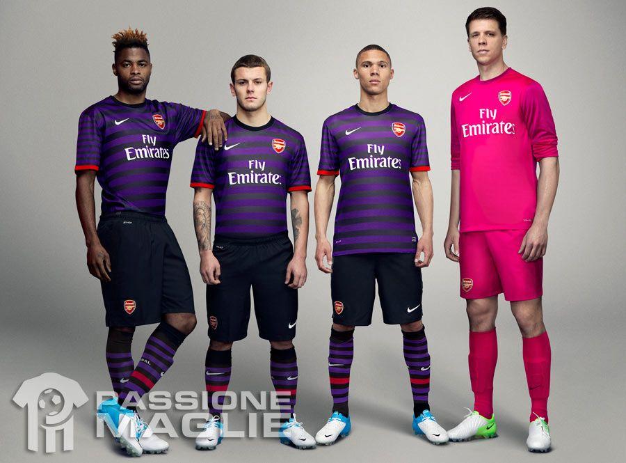 Kit away Arsenal 2012-2013