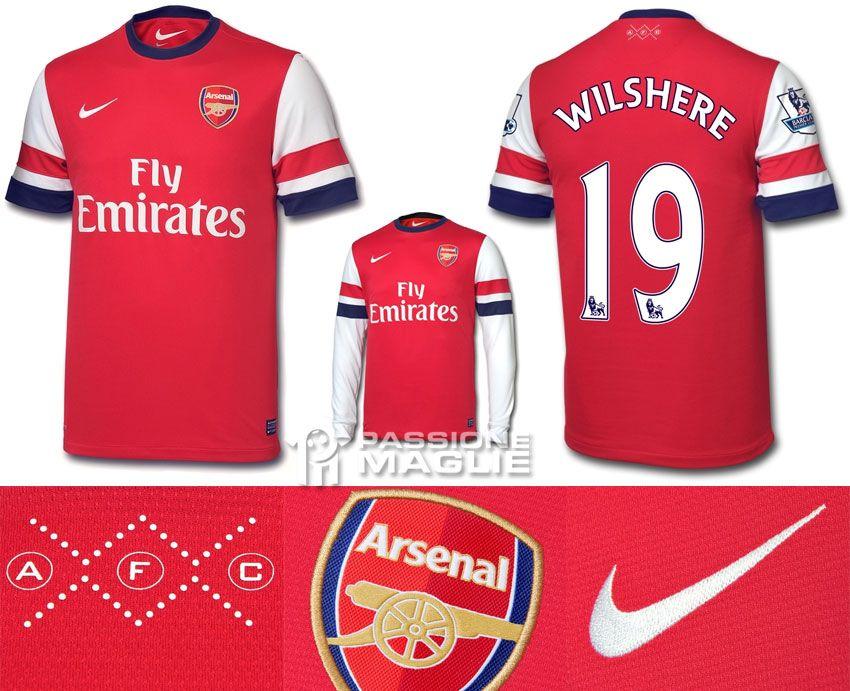 Arsenal prima maglia 2012-2013