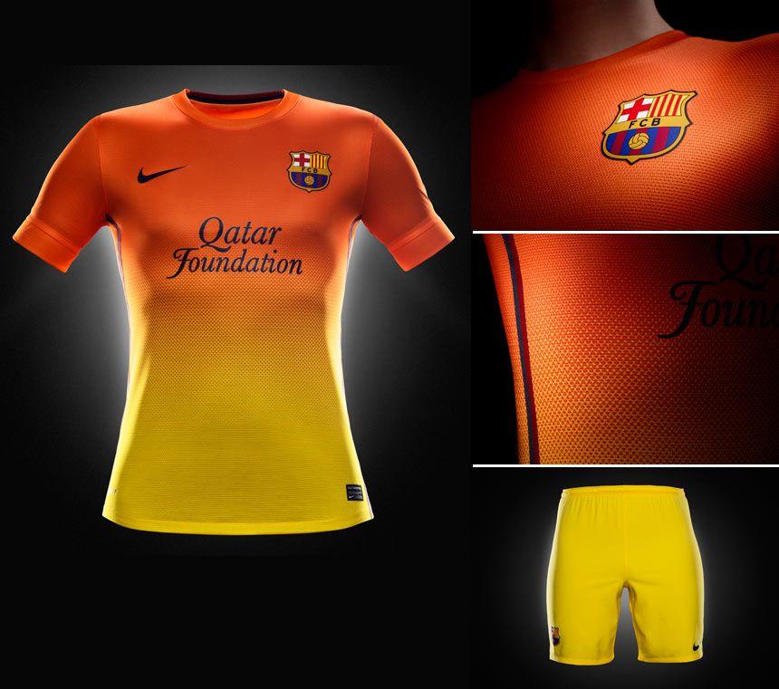 Barcellona seconda maglia 2012-2013 Nike