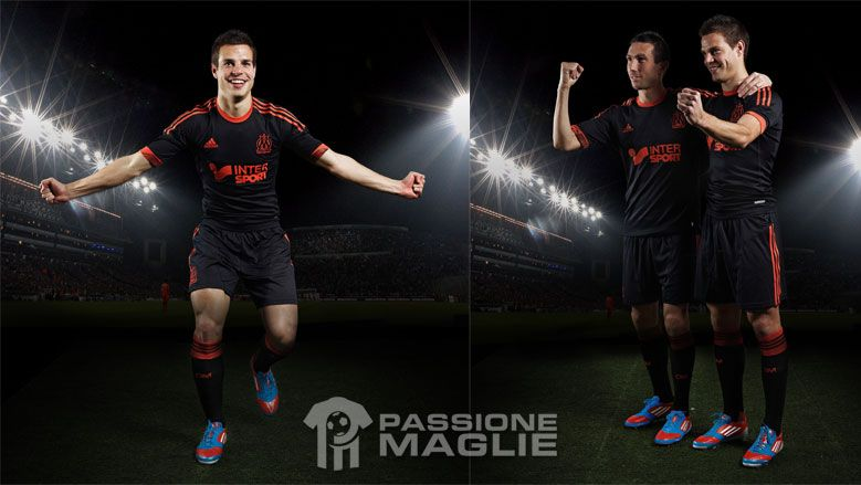 Kit Marsiglia coppe europee adidas