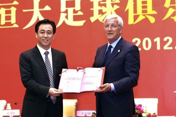 Lippi e  Xu Jiayin