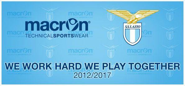 Macron sponsor tecnico Lazio