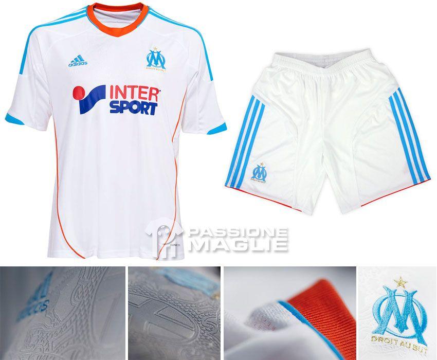 Marsiglia prima maglia adidas 2012-2013