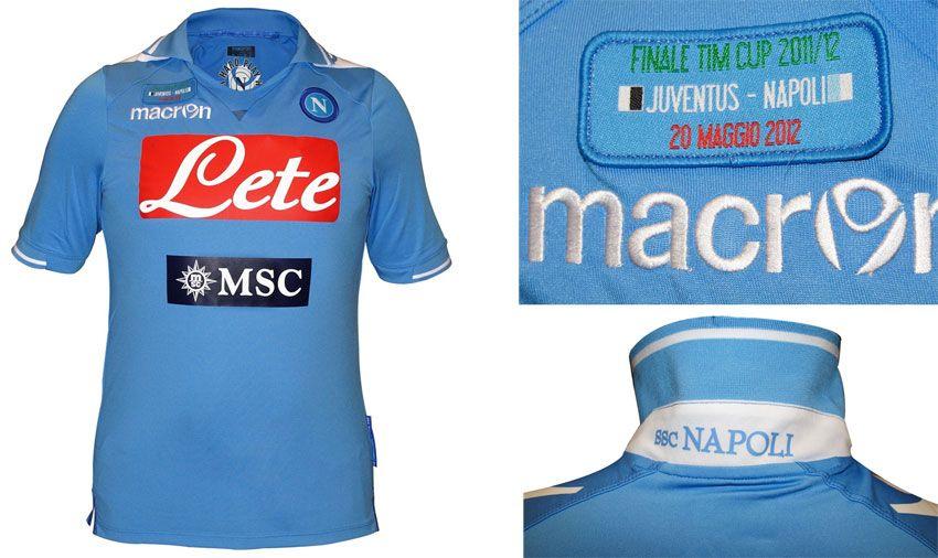 Napoli maglia finale Coppa Italia 2011-2012