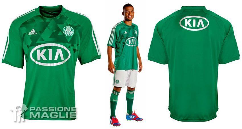 Palmeiras maglia casa 2012