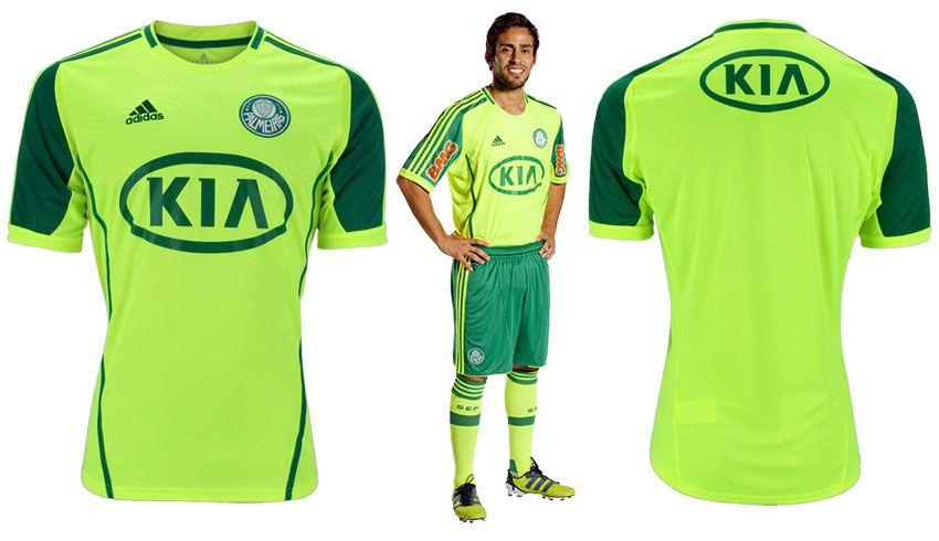 Palmeiras quarta maglia adidas 2012