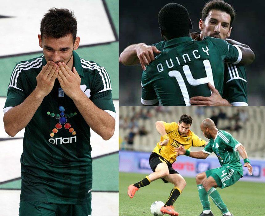 Panathinaikos maglia home adidas 2012-2013