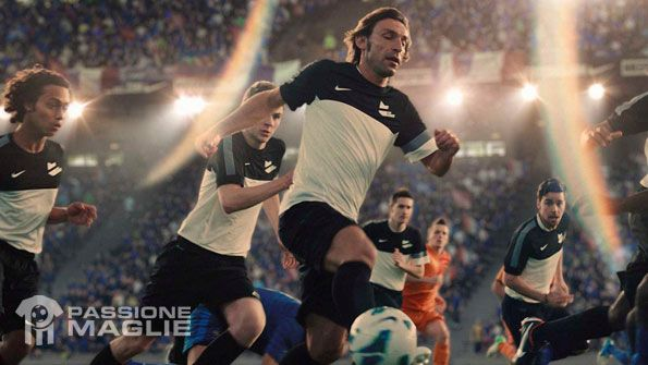 Pirlo spot Nike Football