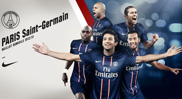 Divisa Paris Saint-Germain Nike 2012-2013