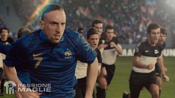 Ribery spot Nike